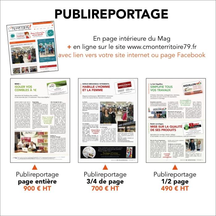 Les publireportages